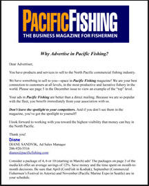 Pacific fishing the business magazine for fishermen for Pacific fishing magazine
